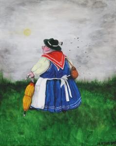 Folkloreschwein