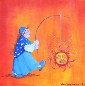 Sonnenfrau